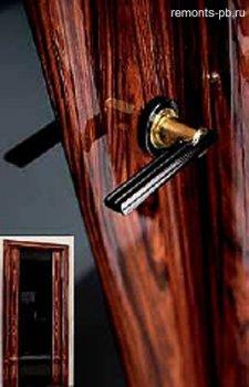 покрытие дверей лаком
